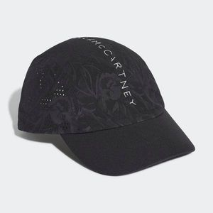 adidas Stella McCartney Black Run Cap NWT